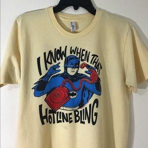 Batman Hotline Bling Graphic Tee